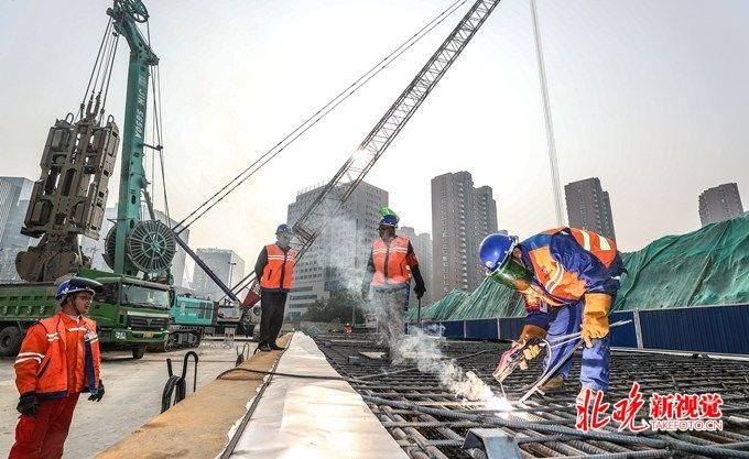 北京地铁17号线太阳宫站开工:下穿10号线 换乘不到两分钟